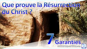 versets bibliques résurrection