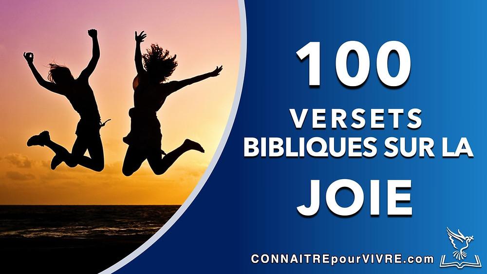 verset bibliques sur la joie