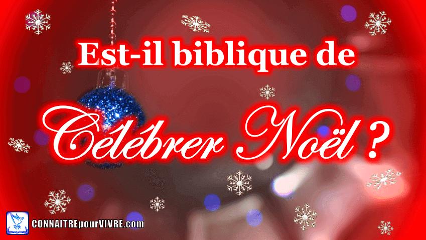 noel biblique?