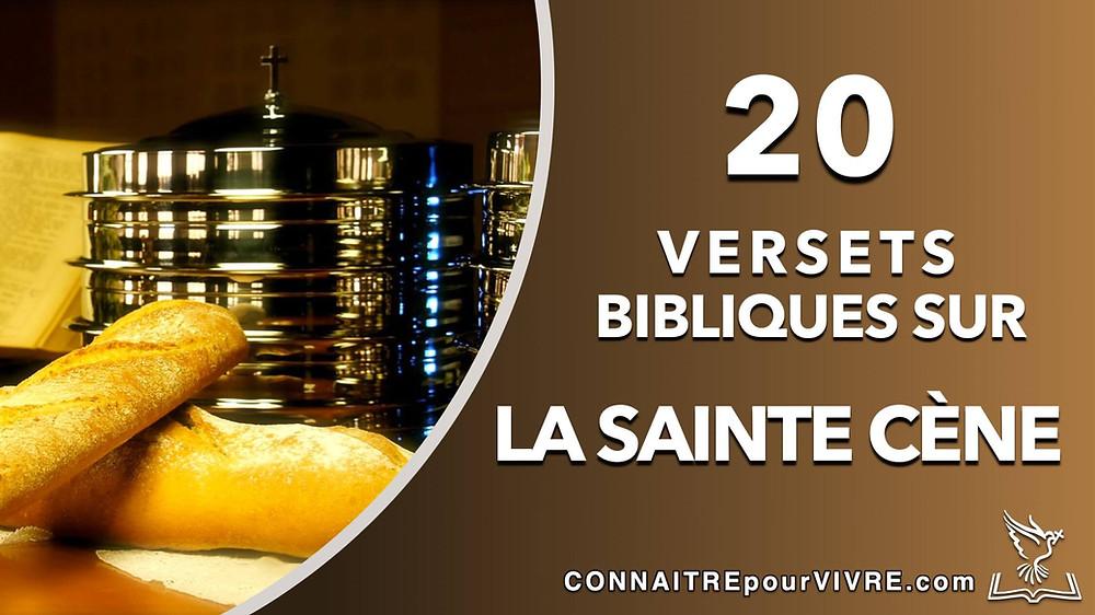 verset bibliques sur l'eucaristie