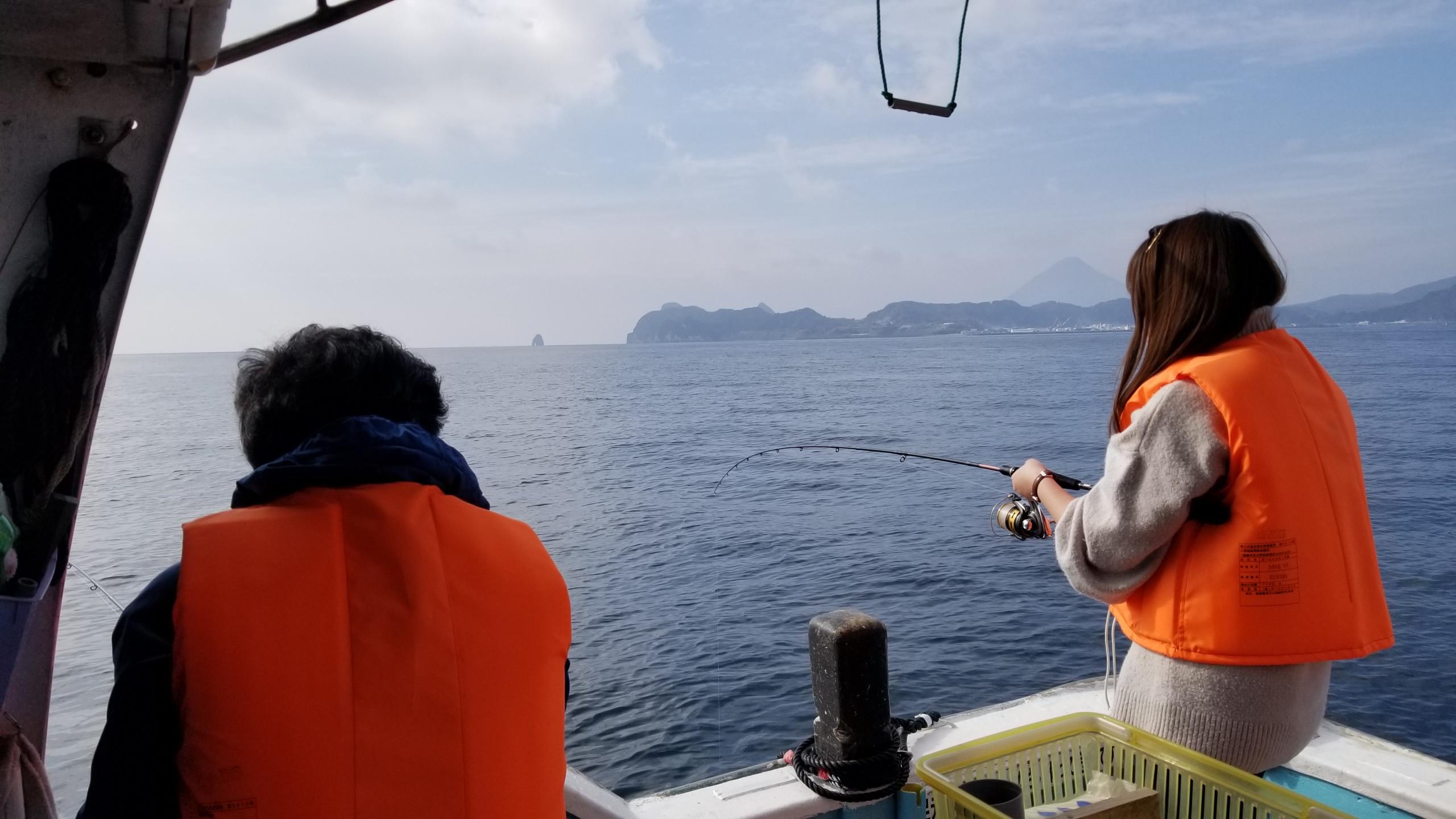 タイラバ釣り体験【2時間】