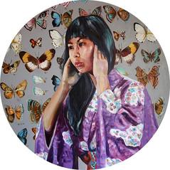 'Hear no evil'#asiacontemporaryartshow #newwork #acrylicpainting #artistsoninstagram #cont
