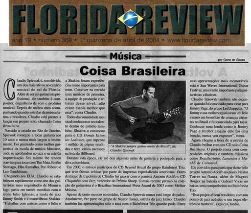 Florida Review Newspaper