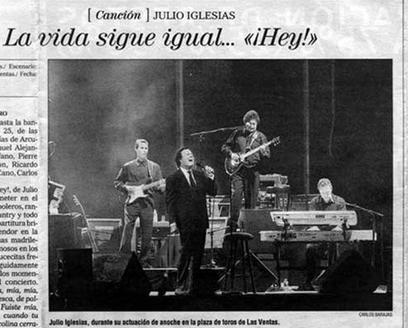 Julio Iglesias Tour - Spain