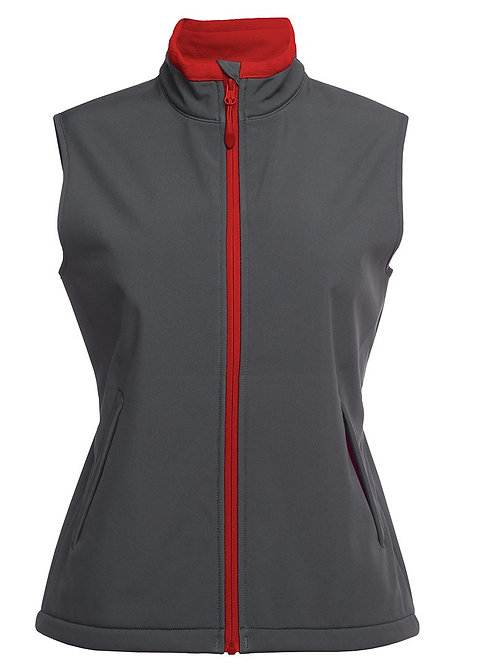 JBs Ladies Podium Water Resistant Softshell Vest