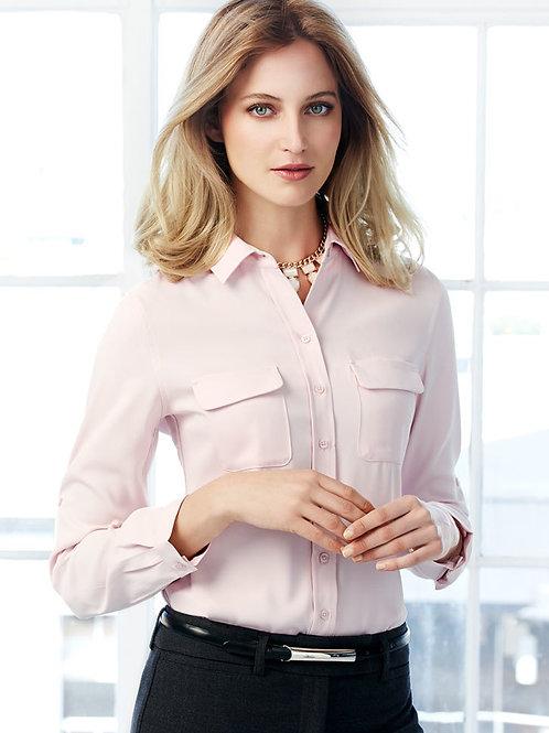 BC Ladies Madison Long Sleeve Blouse