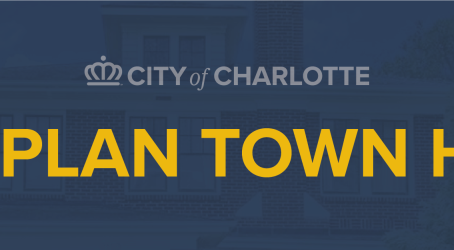Sign up to speak about the Charlotte Future 2040 Comprehensive Plan during upcoming town halls