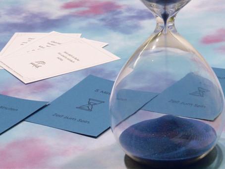 """5 Minuten """"Zeit zum Sein"""" - Ein kostenloses Kartenset für bewusstes Erleben, Genießen und Entspannen"""