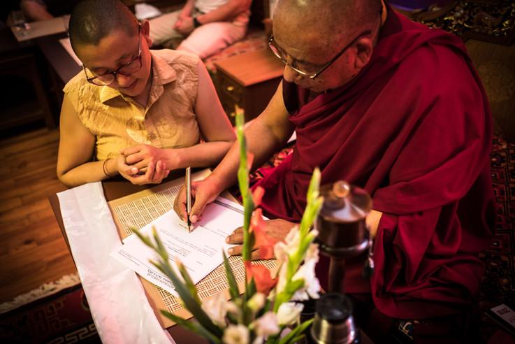 Lama Sherab Gyaltsen Rinpoche