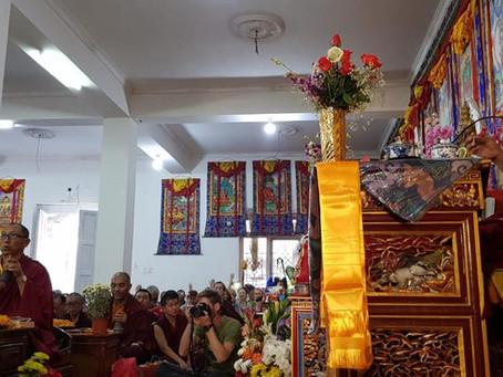 Naše děvčata se účastnila Nyungne in Káthmandu / Our girls did Nyungne in Kathmandu