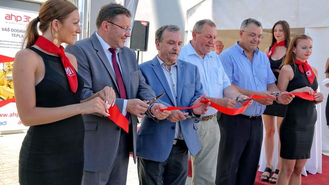 Video ze slavnostního otevření teplárny ve Šternberku