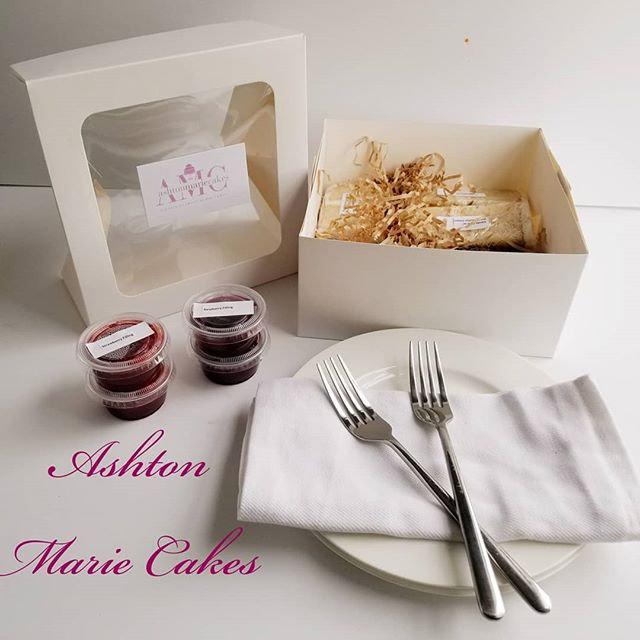 Cake Tasting in a Box