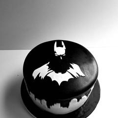 Bat Man Grooms cake