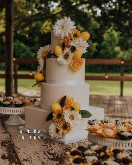 Lemonade Themed Wedding
