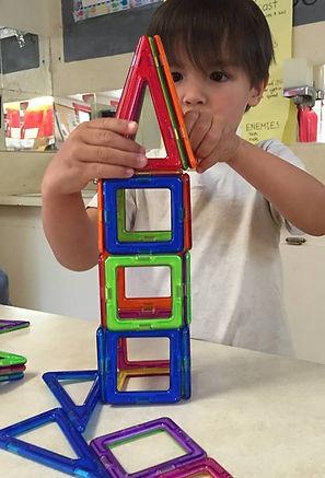 Magnatiles Construction Learn Building