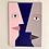Thumbnail: Face à face sur fond bleu