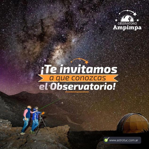 visitar el observatorio turismo editado.