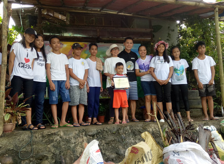 FPVI actively participates in river cleanup