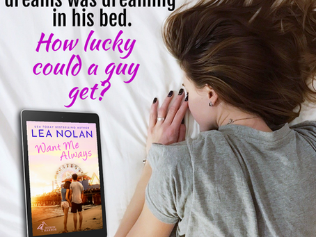 Welcome Lea Nolan, Author of Want Me Always!