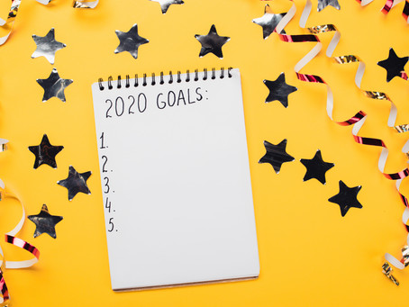My To-Do List for 2020--A Little Different Than Last Year