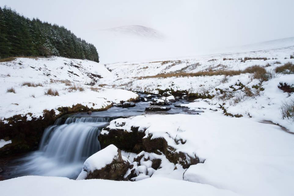 Pen Y Fan Waterfall - Brecon Beacons