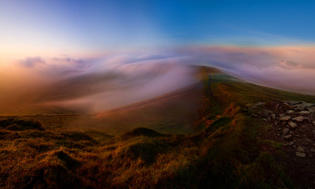 Rolling Fog - Brecon Beacons
