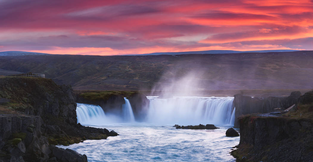 Godafoss Waterfall - Iceland