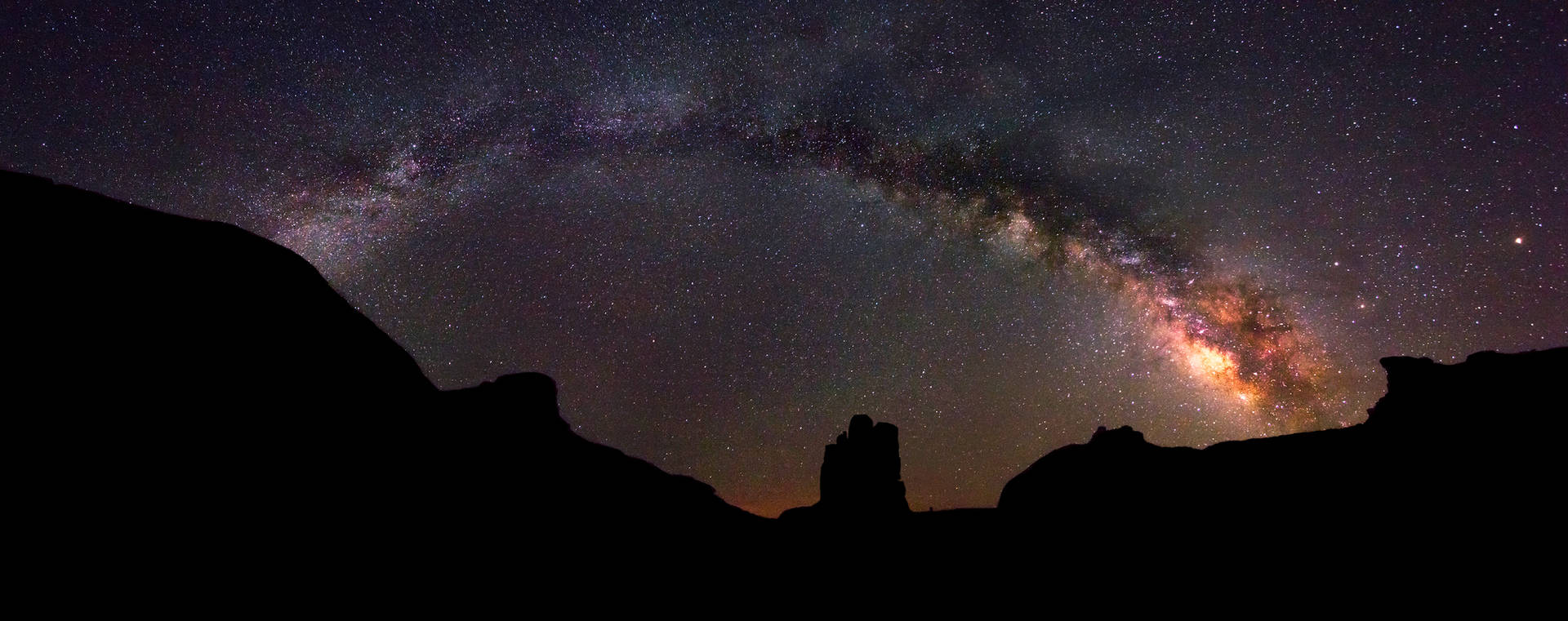 Milky Way - Monument Valley