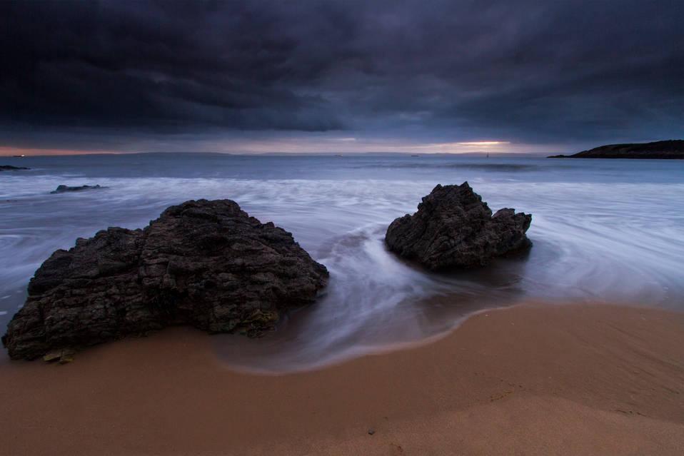 Beach Rocks - Barry