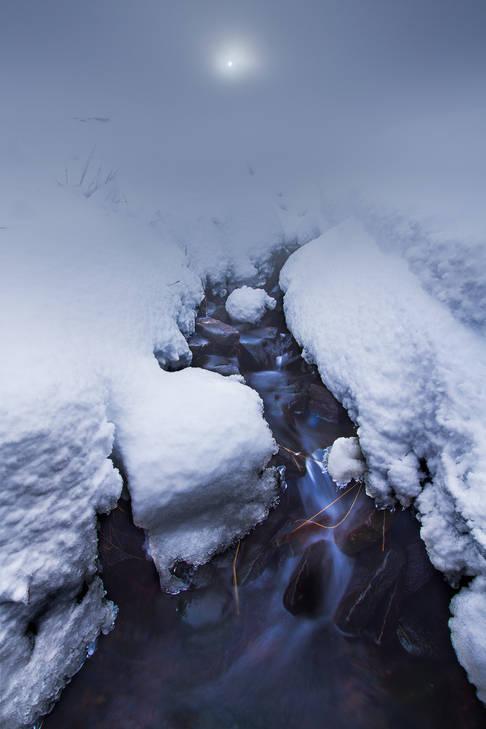 Snow Fog - Brecon Beacons