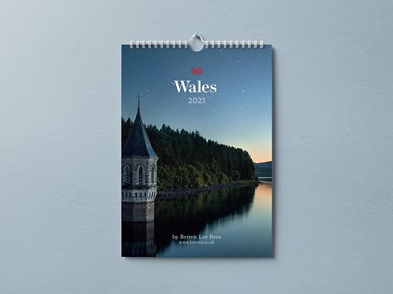 Wales 2021 Calendar