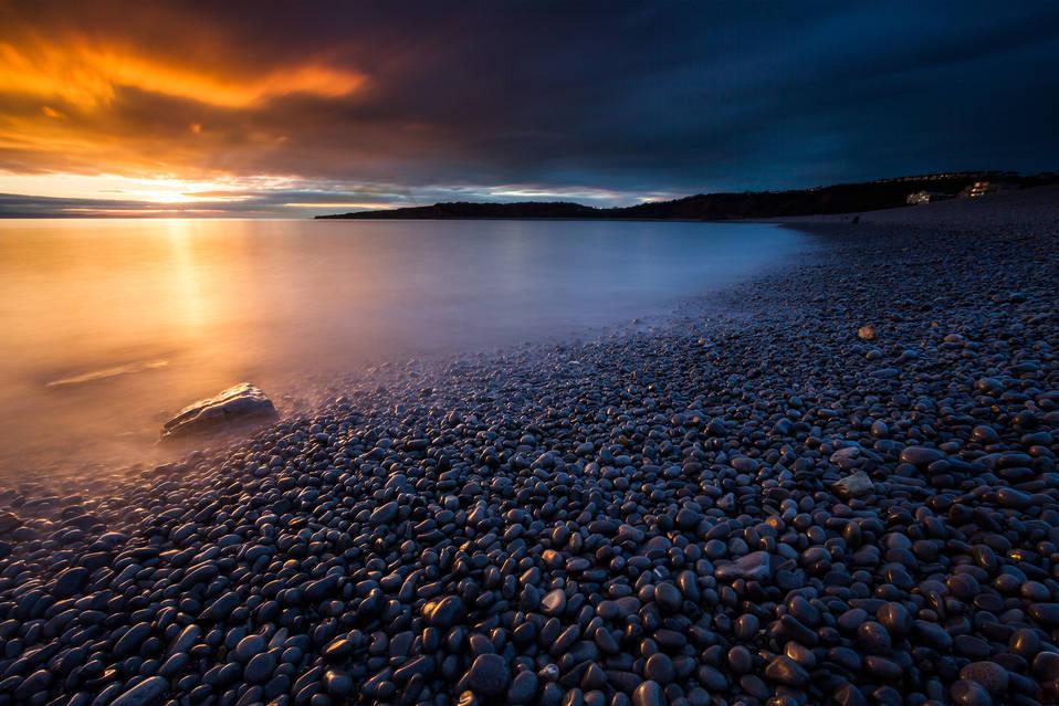 Beach Sunset - Barry