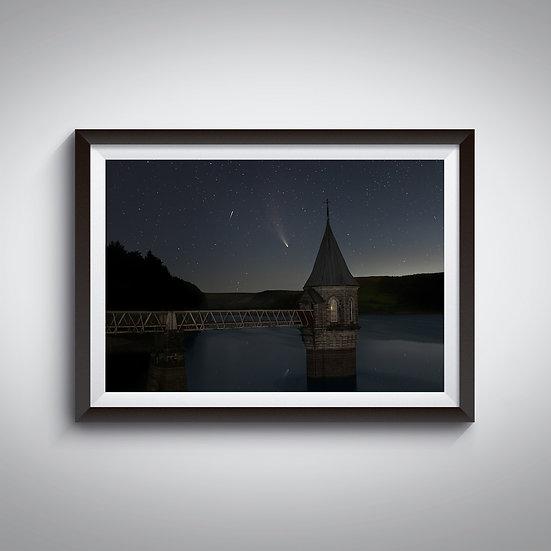 Pontsticill Reservoir - Neowise Comet