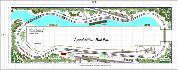 The Appalachian Rail Fan