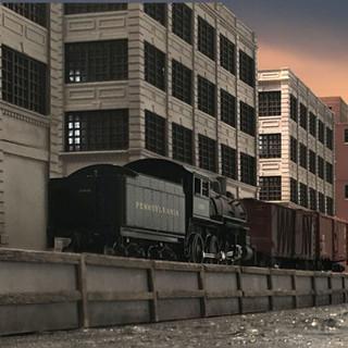 WW 2 Era Brooklyn Switching Layout (8' x 8' N Scale)