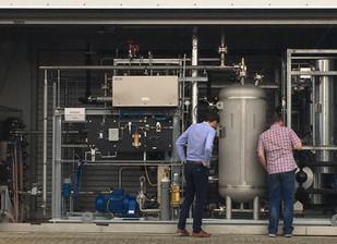 Électrolyse : le stack alcalin en phase de test à Berlin