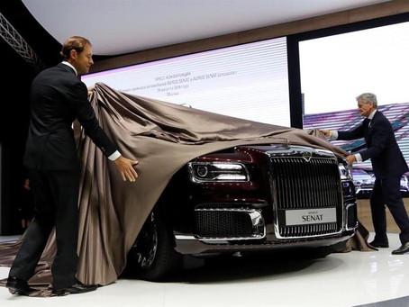 روسيا تصدر سيارة أوروس الفاخرة إلى السوق الأوروبية