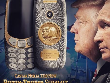 إطلاق هاتف يحمل صورة ترامب وبوتين