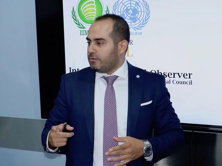 السفير رامي العطّار يؤكد على دور الشراكات في تحقيق خطة التنمية الدولية
