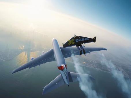دبي من السماء مدينة لعشاق المغامرات والرياضات الجوية