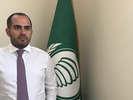 السفير رامي العطار يتبرع للإسهام في توفير مساعدات غذائية