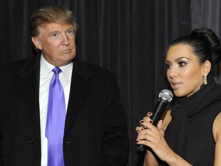 كيم كارداشيان: إبنتي تستطيع أن تحكم أميركا أفضل من ترامب
