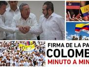 ¡Fin de la guerra en Colombia!