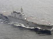 Japón se suma a la tensión entre EE.UU. y Corea del Norte y manda su buque de guerra más grande