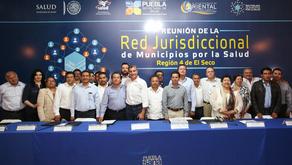 Tony Gali encabeza reunión de Municipios por la Salud en Oriental
