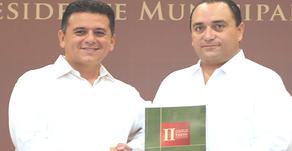 FREDY MARRUFO REAFIRMO COMPROMISO DE SUMAR ESFUERZOS CON EL GOBIERNO FEDERAL Y ESTATAL