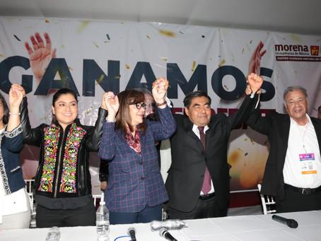 Con Propuestas, gana Miguel Barbosa el debate de candidatos al Gobierno de Puebla