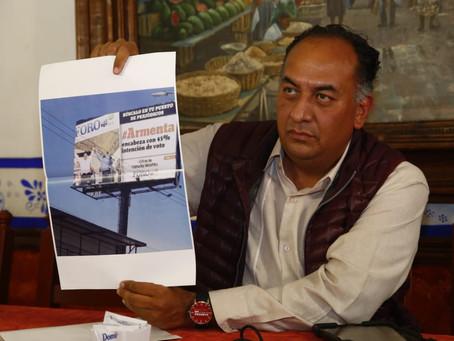 Armenta intenta desvirtuar proceso interno de MORENA: David Méndez