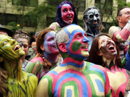 200 modelos desnudos prometen paralizar Times Square