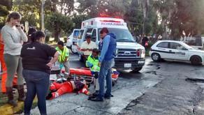 Muere trabajadora de limpia atropellada en Puebla